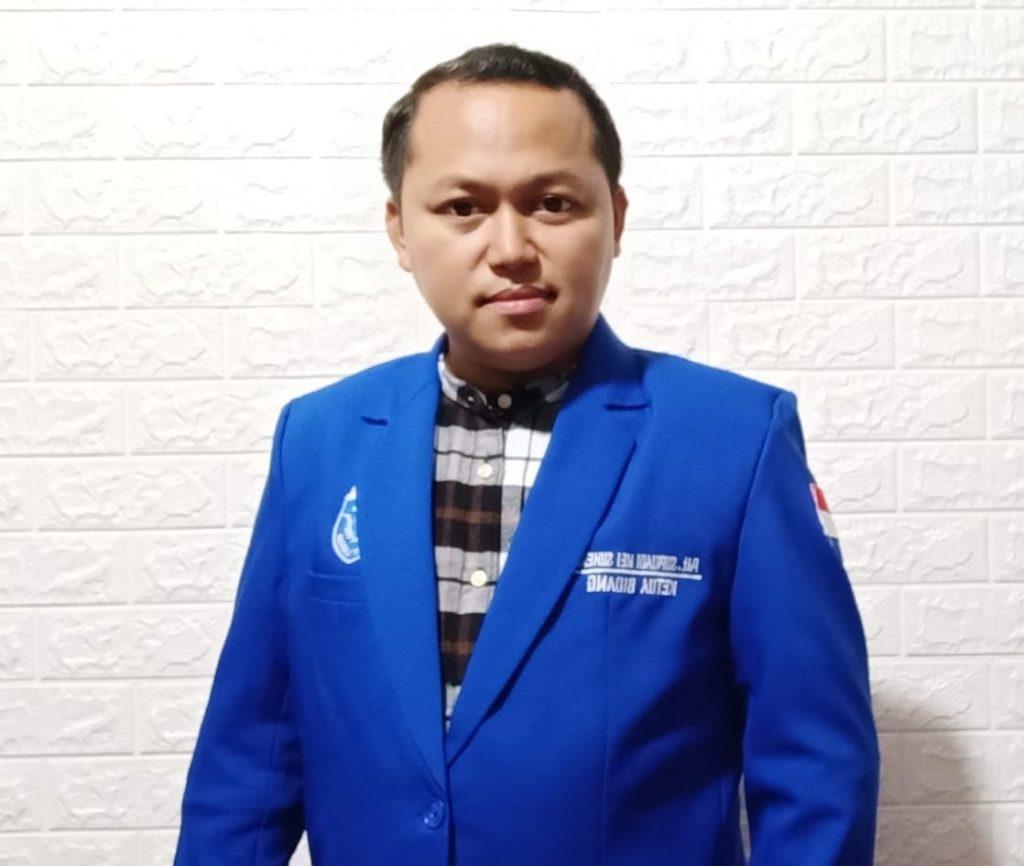 Ketua DPP GAMKI Bidang Persekutuan dan Kerohanian Pdt. Sufriadi Mei Suhendra