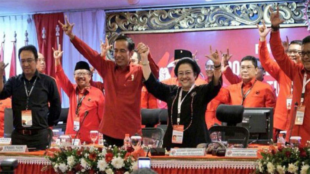 Megawati dan Jokowi