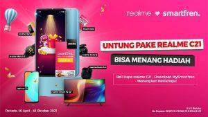 Smartfren x Realme C21