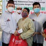 PITI Jatim Yayasan HM Cheng Hoo Indonesia Bersama Trekkers Berbagi Kasih Kaum Difabel