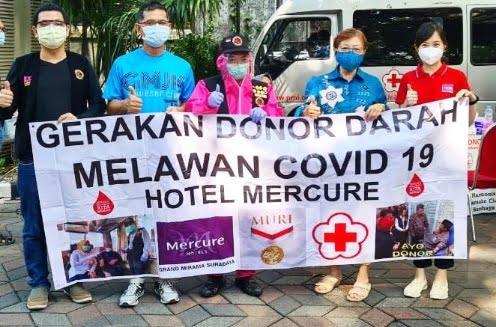 donor darah Mirama mercure