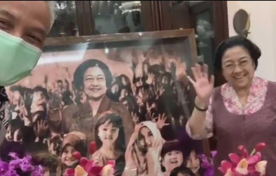 ganjar dan Megawati
