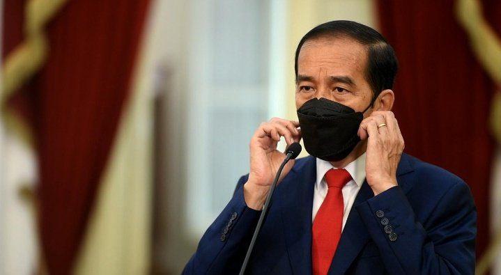jokowi masker