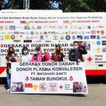 PT Matahari Sakti Siapkan Ribuan Paket Sembako bagi Pendonor Darah