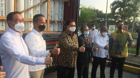 pengiriman oksigen ke india