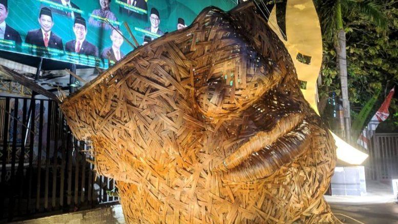 Masker bambu