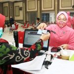 Bhayangkari Polda Jatim Peduli Gelar Aksi Sosial Donor Darah