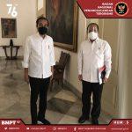 Presiden Jokowi Temui Komjen Boy Rafli