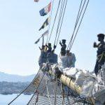 Tiga Hari Berlayar, Taruna AAL Angkatan ke-68 Bersama KRI Bima Suci Tiba di Labuan Bajo