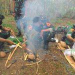 40 Taruna AAL Tingkat ll Weekend Jungle Survival di Hutan Purboyo