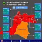 Masih Ada 7 Kabupaten dan Kota di Banten Zona Merah