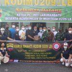 INTI Labuhanbatu Gandeng Kodim 0209/LB Salurkan Bantuan Untuk Masyarakat Terdampak Covid-19