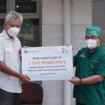 Bank Indonesia bersama BMPD dan IPEBI beri bantuan Alat Terapi Oksigen bagi RSUD Dr Soetomo