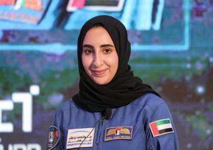 astronot wanita arab