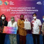 3 Indonesia Salurkan Bantuan 15.000 Paket Kesehatan