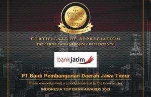 award bank jatim