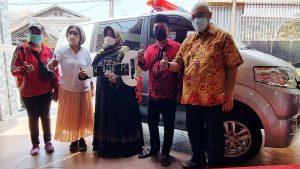 bantuan ambulance Indah Kurnia