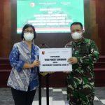 Bagikan 1000 Paket Sembako Grand Mercure Surabaya City dan Mercure Surabaya Manyar Berkolaborasi dengan Kodam V Brawijaya