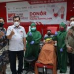 Peringati HUT ke – 44, Pasar Modal Indonesia Gelar Donor Darah di Surabaya