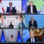 Presiden Jokowi: Penting, Aksi Konkrit Global Atasi Masalah Energi Dan Perubahan Iklim