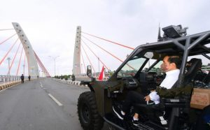 Jokowi naik rantis