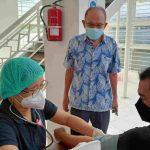 Yayasan Sosial Abdihusada Utama Bersama Biddokkes Polda Jatim Gelar Vaksinasi Massal D1 & D2