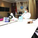 Bangun Sinergitas Asintel Danpasmar 2 Kunjungi BNN Jatim